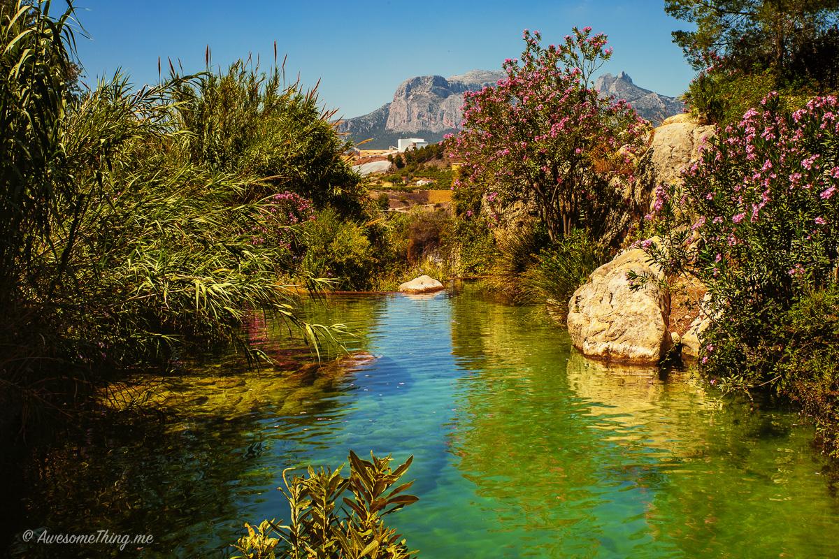 Водопады, Испания