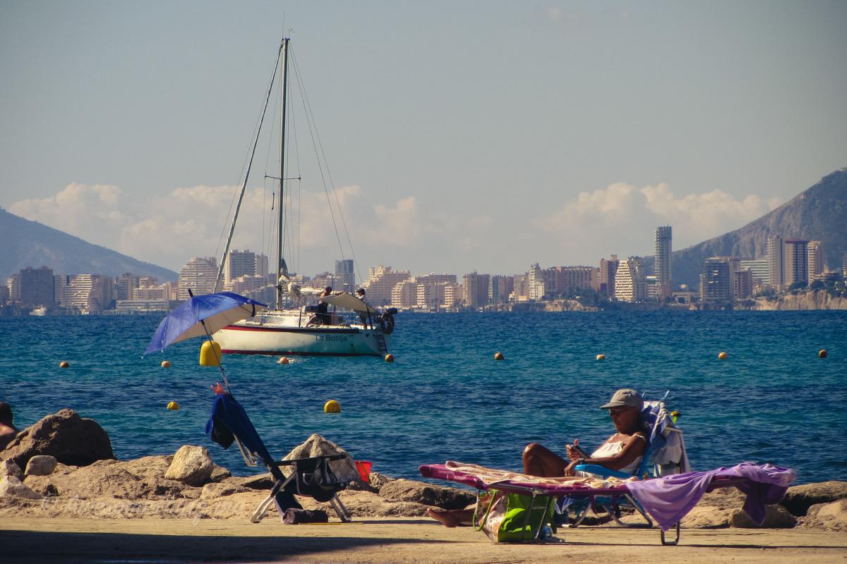 Пляж в Морайре, Испания