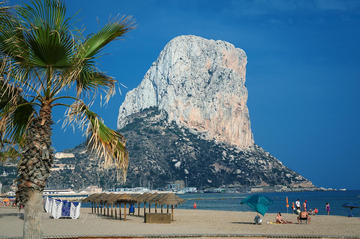 Spain Calpe Beach