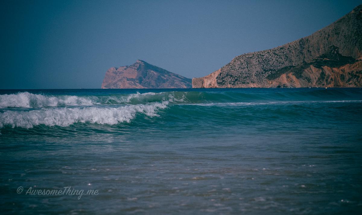 Waves, Spain