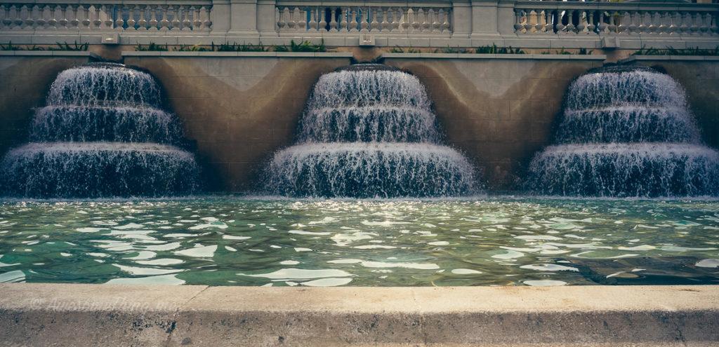 Барселона, поющие фонтаны