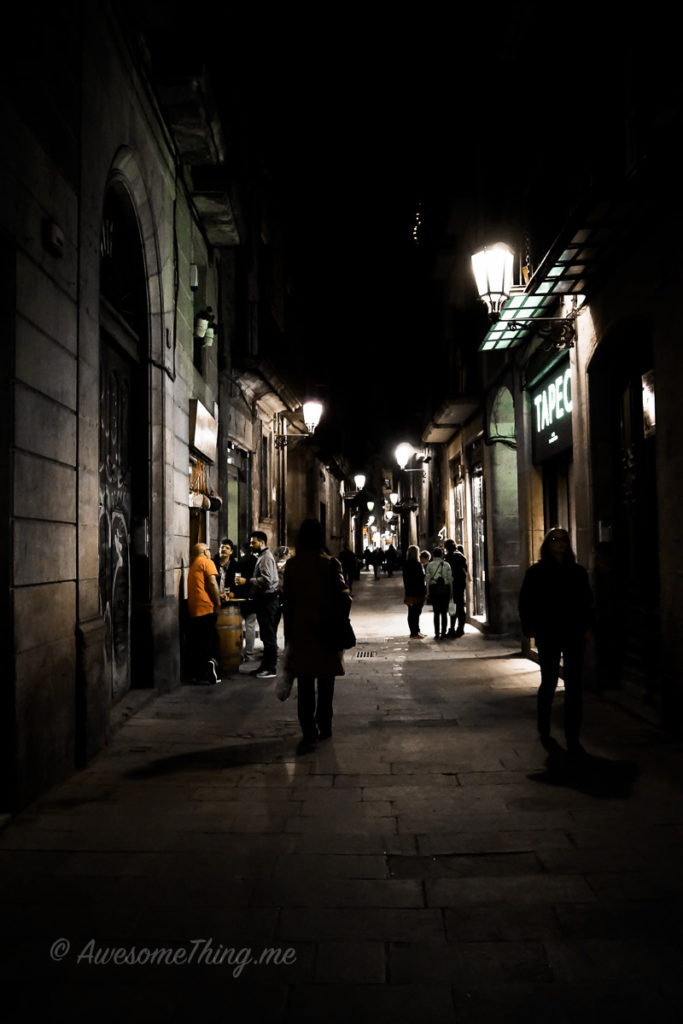 Барселона, прогулки по городу
