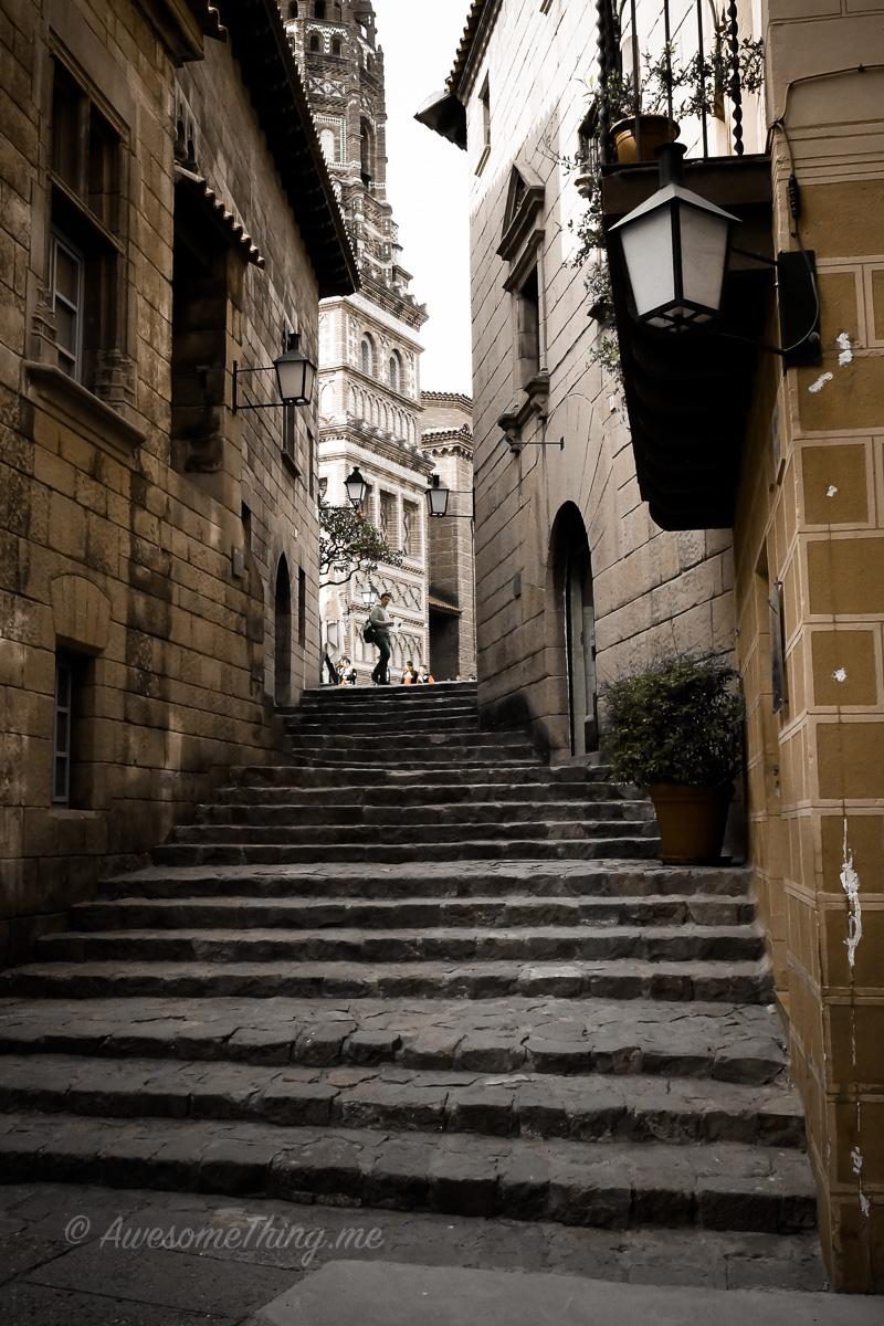 Брселона, Испанская деревня