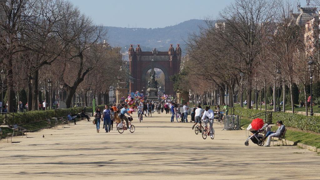 Парк Сьютаделья, Барселона