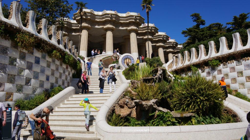 Парк Гуэль, Барселона
