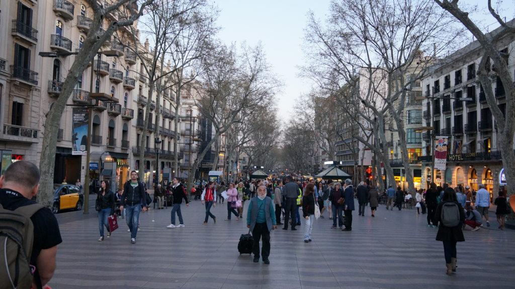 Las Ramblas, Barselona