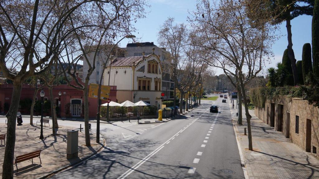 Барселона поездка на автобусе