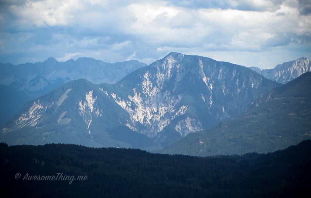 Каринтия, горы