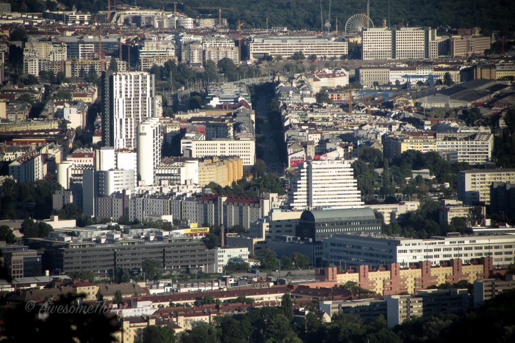 Вена, вид на город