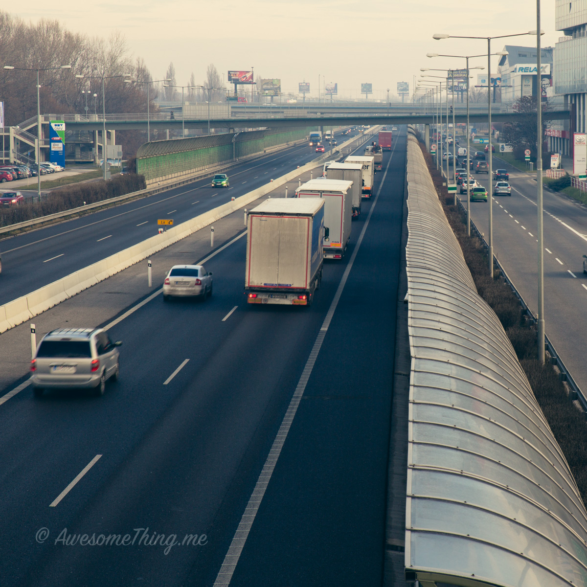 Дороги в Братиславе