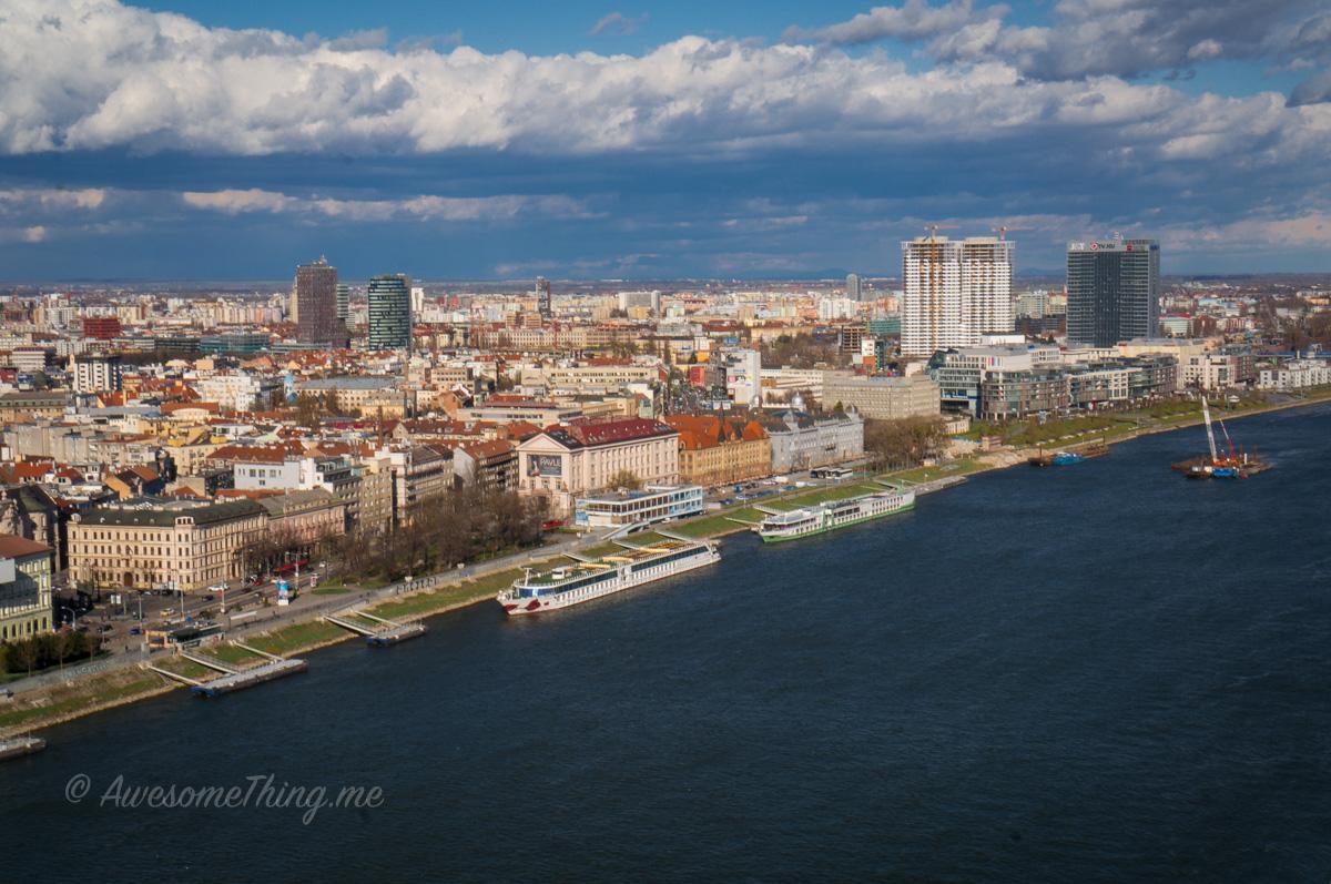 Братислава, левый берег