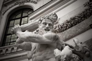 Вена, скульптура, Хофбург