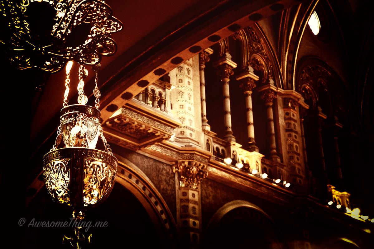 Внутри монастыря Монсеррат