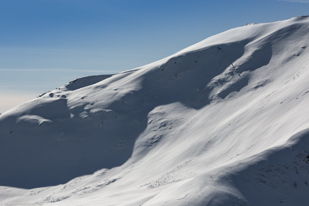 Saalbach snow