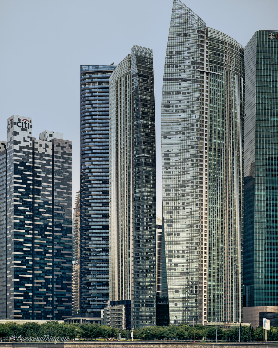 Сингапур, небоскребы