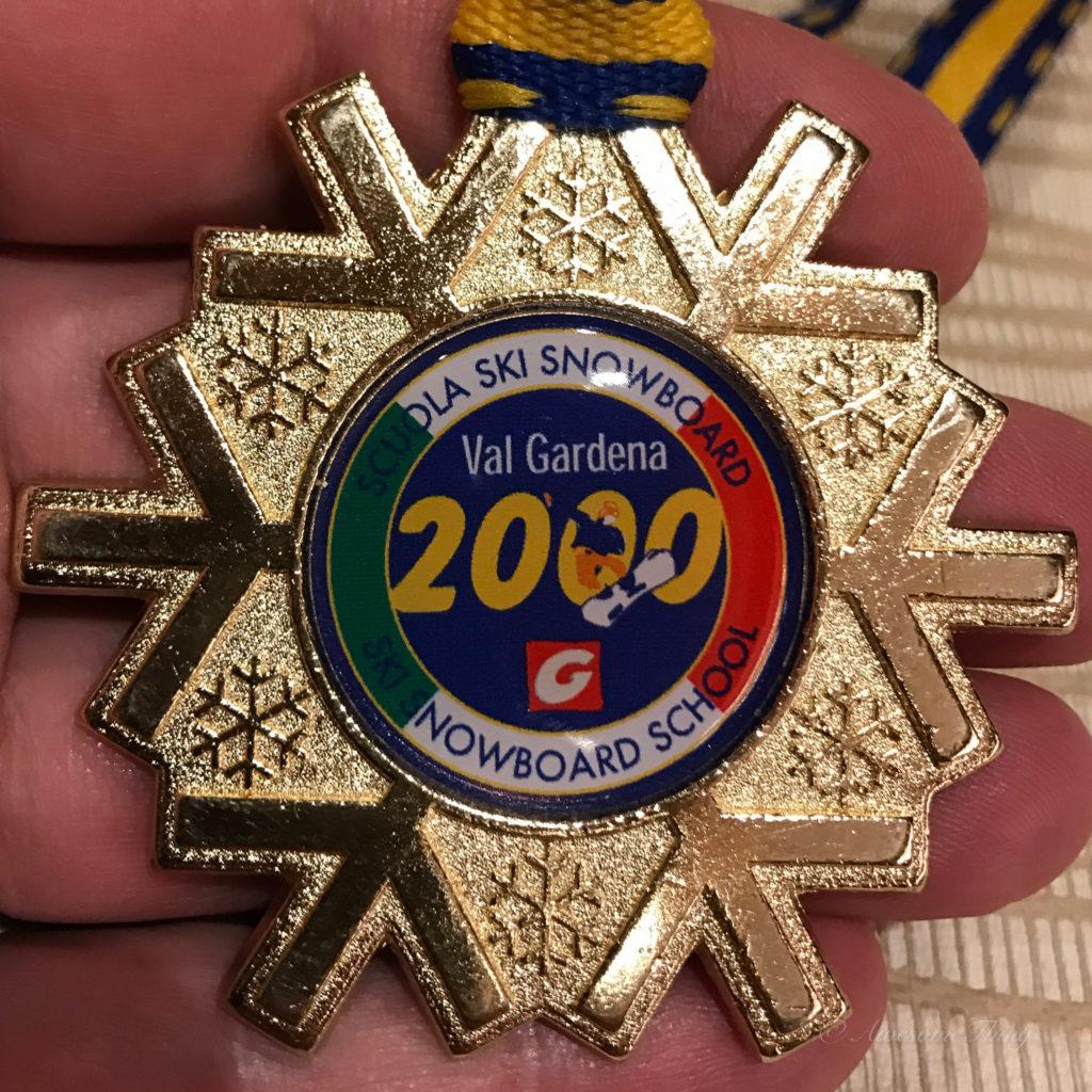 medal - на лыжи с детьми