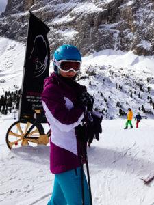 на лыжи с детьми