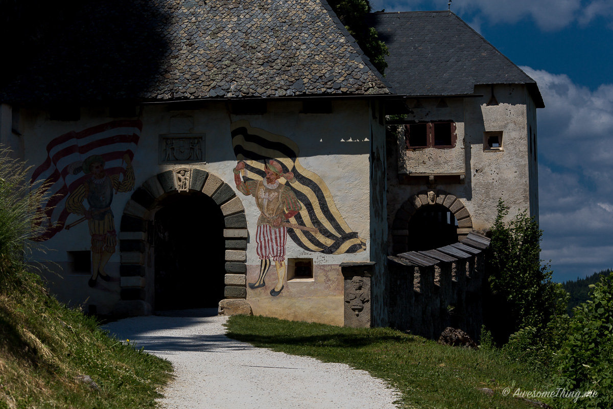 Каринтия, Замок