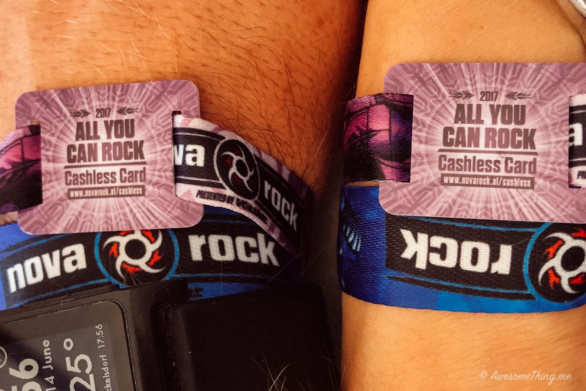 Nova Rock Wristbands