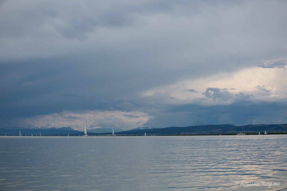 Озеро недалеко от Братиславы, Австрия