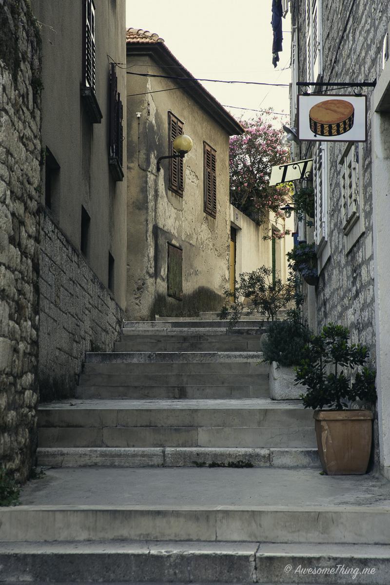 На улочках Хорватии
