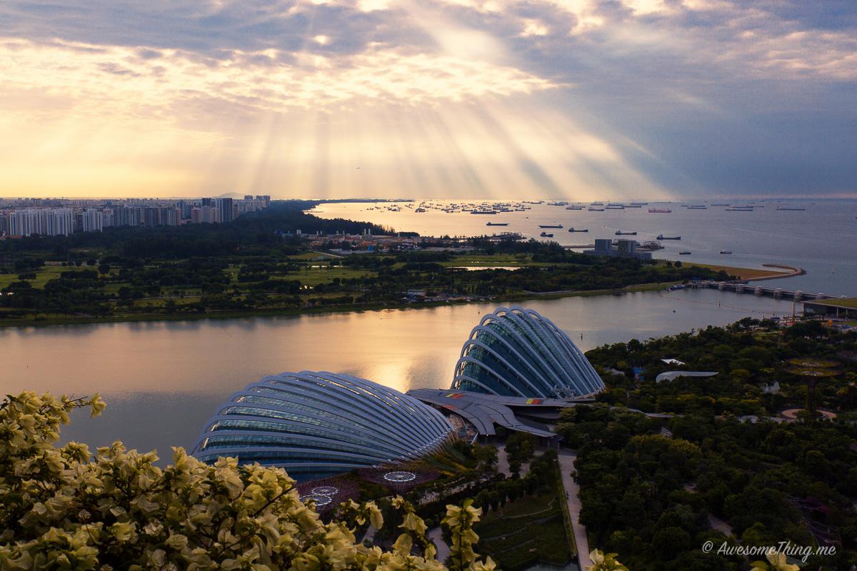 Сингапур, рассвет