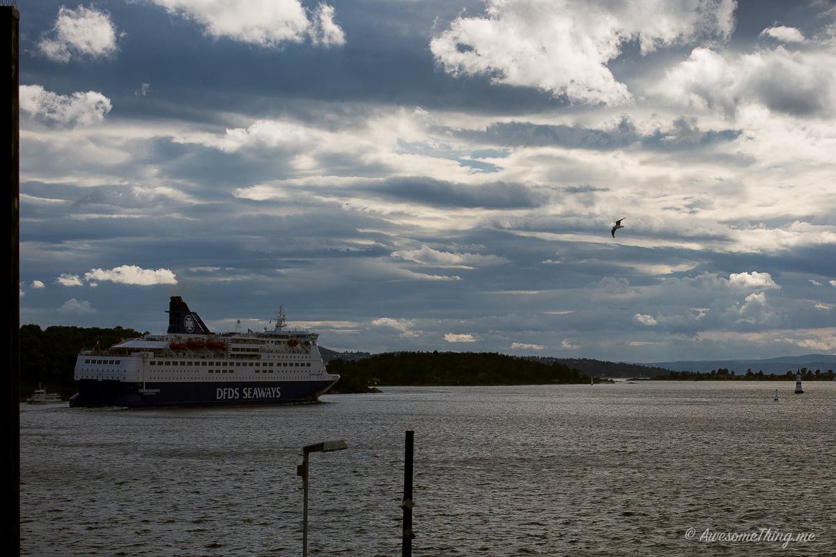 Паром DFDS Seaways Копенгаген-Осло-Копенгаген