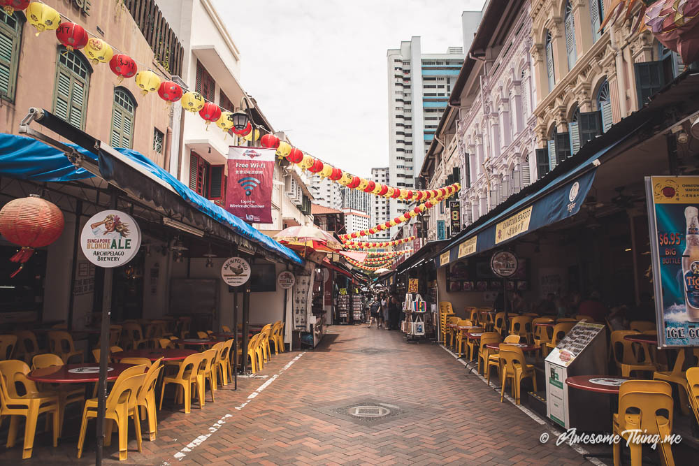 Чайнатаун, Сингапур