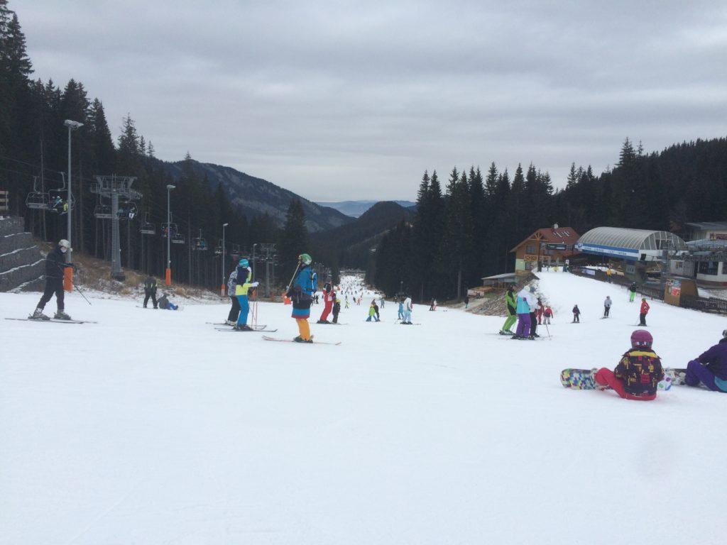 Выбор лыжного курорта с детьми: Ясна