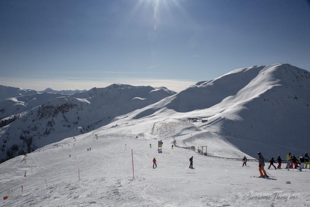 Выбор лыжного курорта с детьми: Австрия