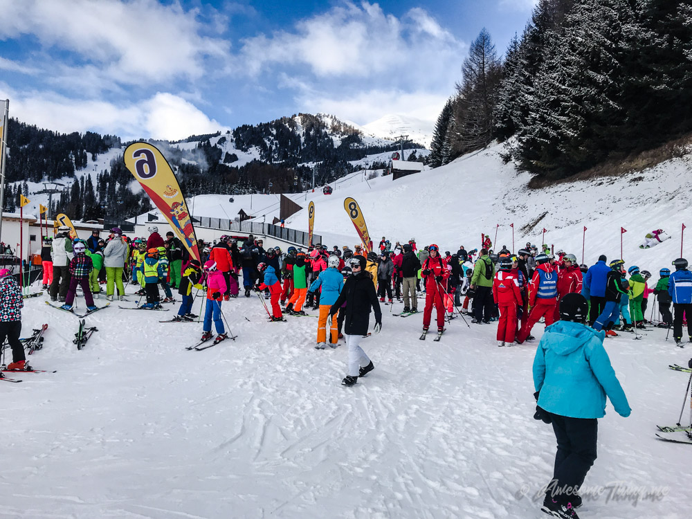 Лыжные школы Серфауса
