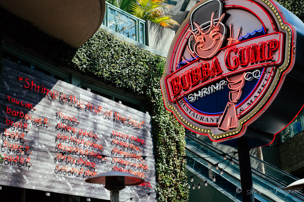 Bubba Gump Shrimps