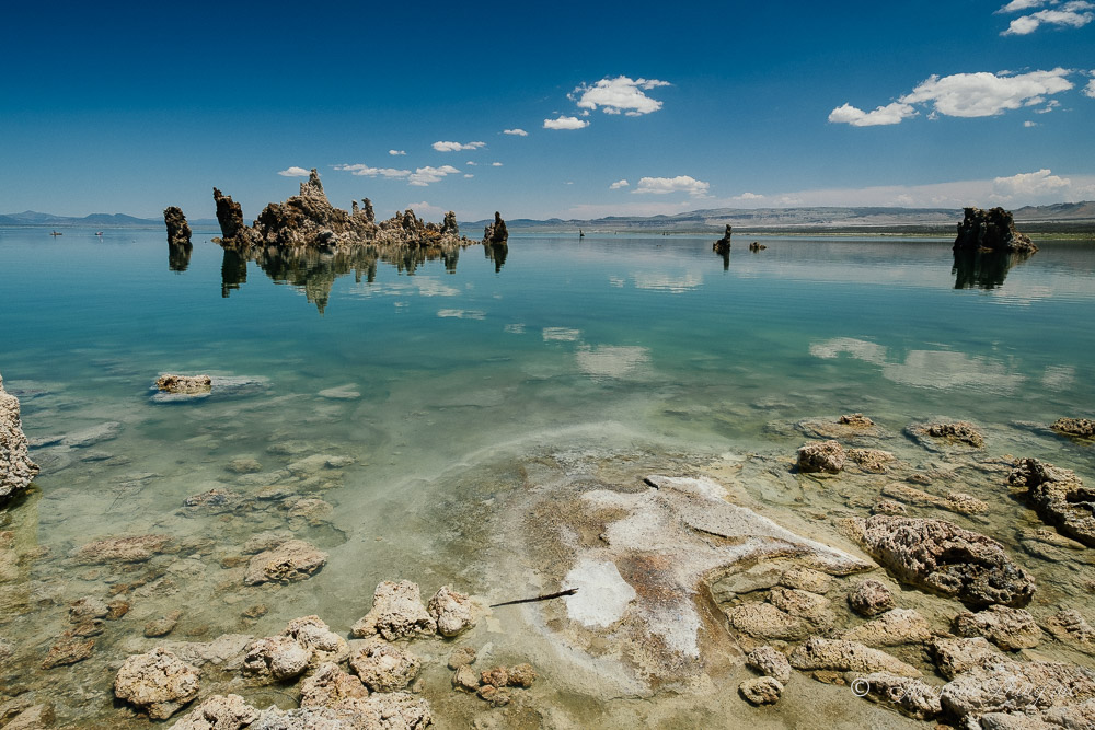 Озеро Моно, кольцевой маршрут по Калифорнии