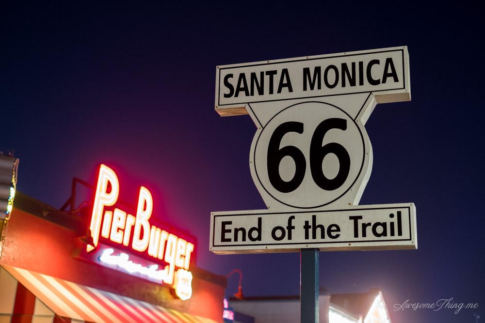 Пирс Санта-Моника, Лос-Анджелес