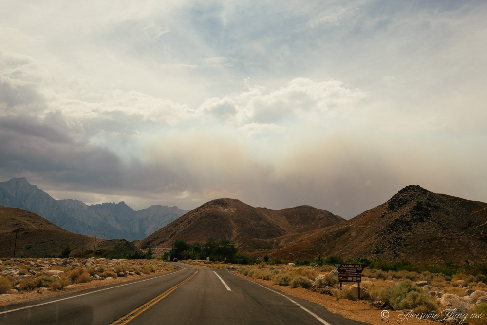 Калифорния: дорога 395